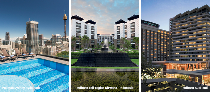 Pullman hotels to lead the way in Pacific